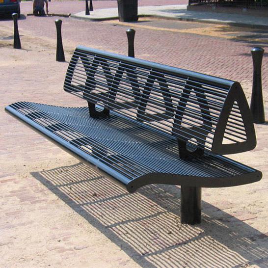 小区户外铁艺凳子
