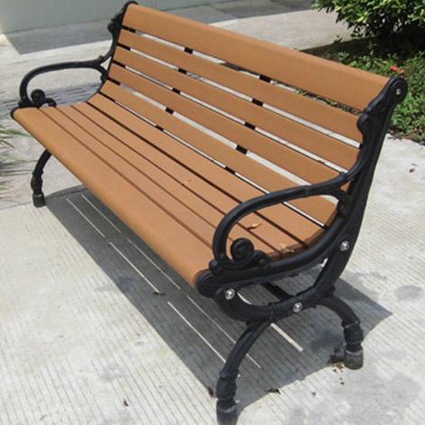 户外实木园林休闲凳