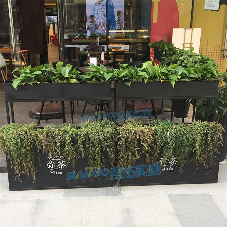 商业广场花箱案例图