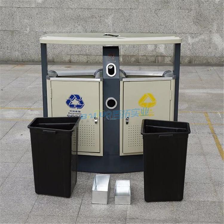 儿童公园垃圾桶主桶及内桶展示