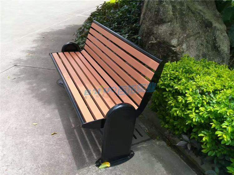 公园椅子凳子侧面细节图