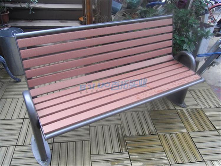 公园椅子凳子椅面展示图
