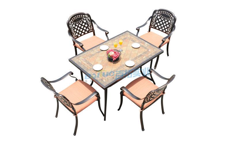 深圳户外桌椅展示图