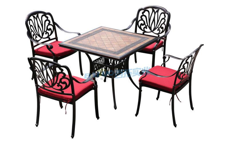 广州户外桌椅产品展示图