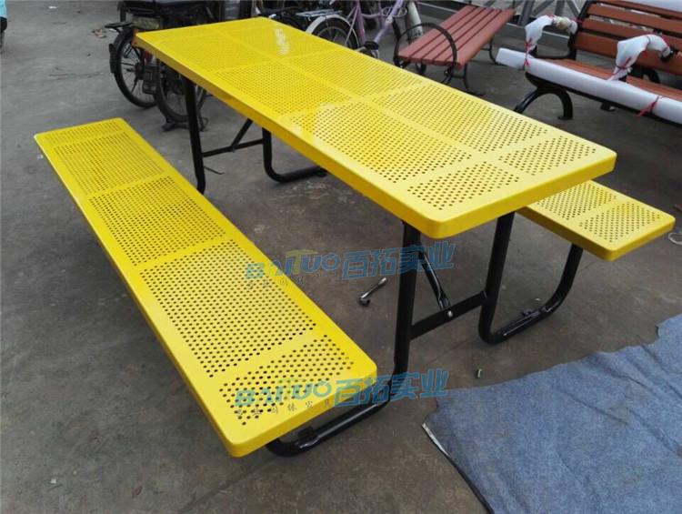 铁艺户外桌椅颜色可定制