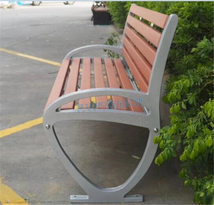 深圳专业公园凳侧面细节图