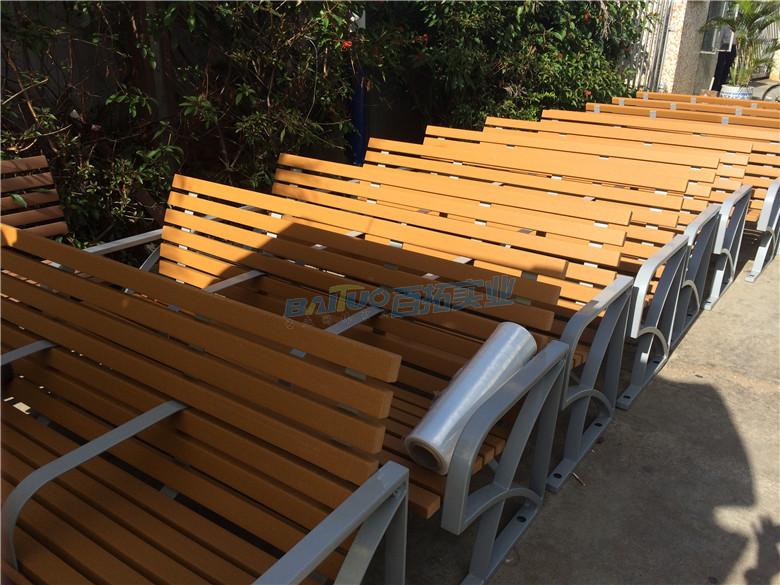 公园木凳厂家展示图