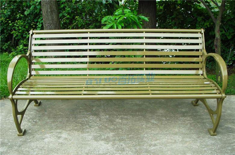 公园长铁凳可定制颜色