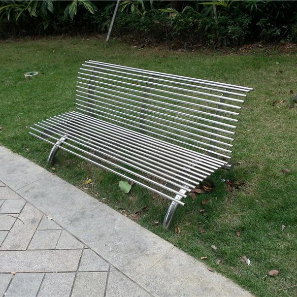 不锈钢长凳公园休息长凳