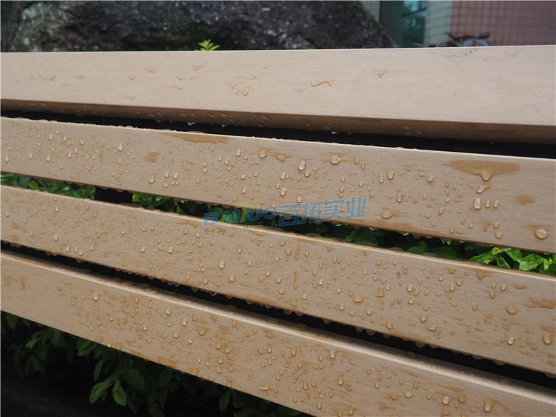 公园平凳椅椅面采用优秀防水防腐材料