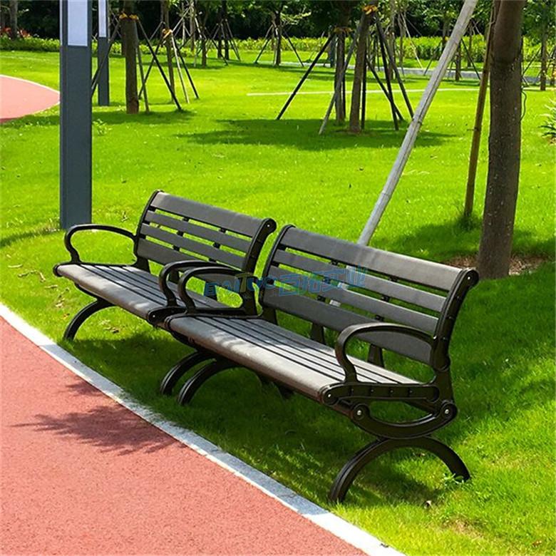 户外塑木长板凳产品展示图