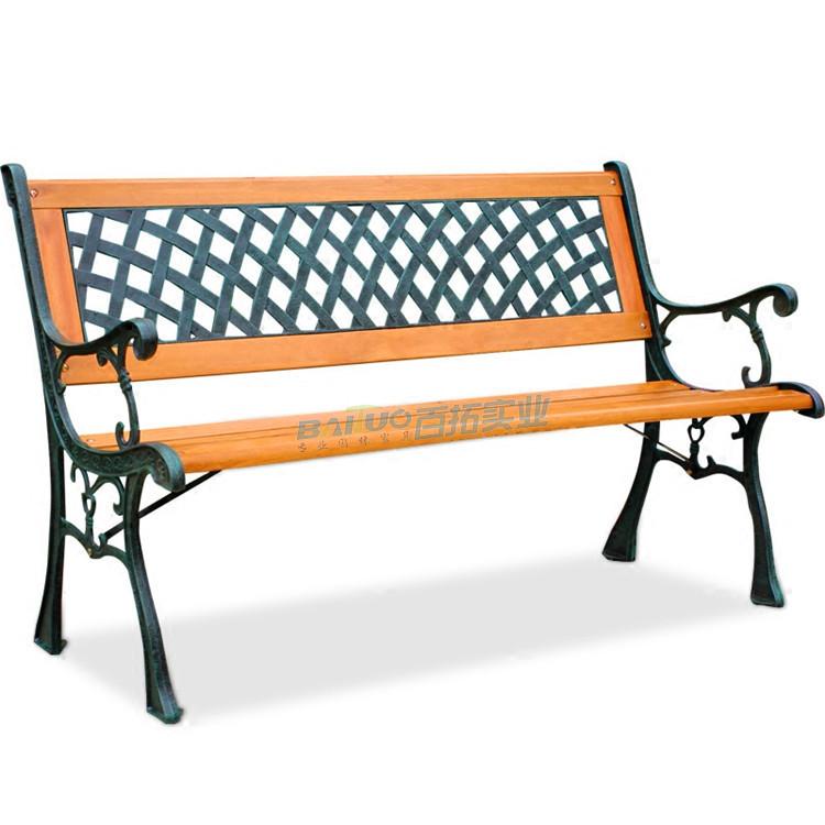 园林户外休闲坐凳展示图