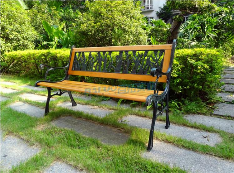 园林户外休闲坐凳实物图