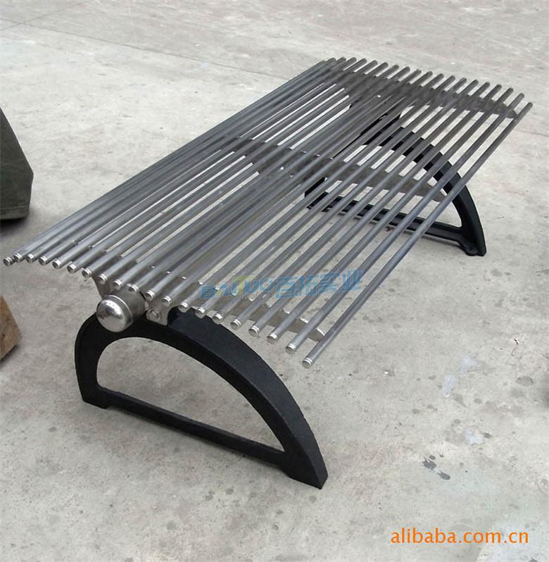 不锈钢长凳靠背无靠背展示图