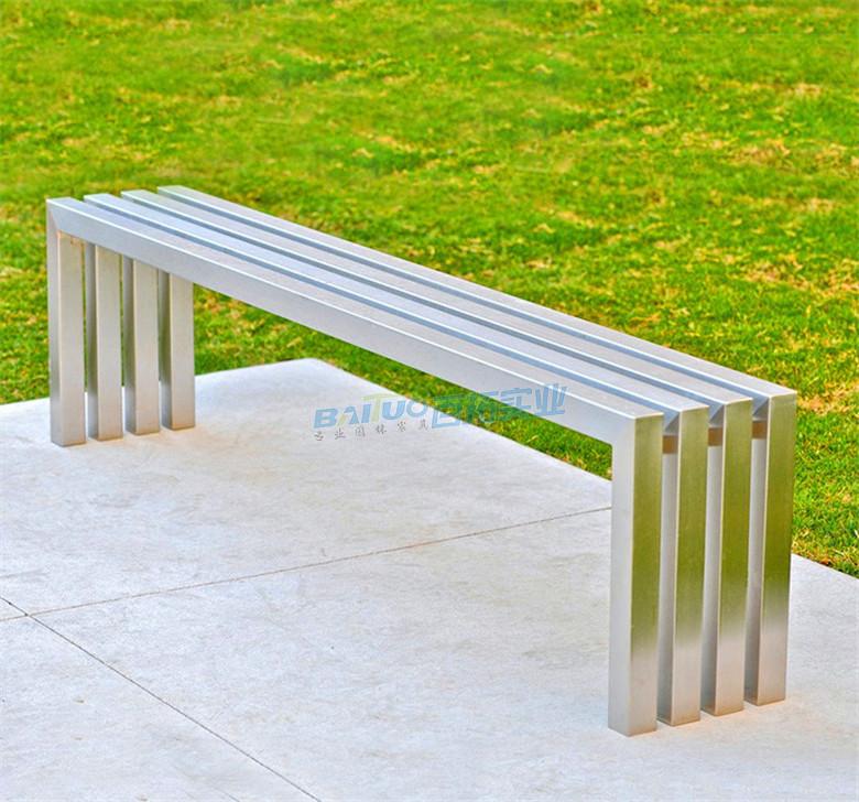 户外不锈钢凳子室外安装效果图