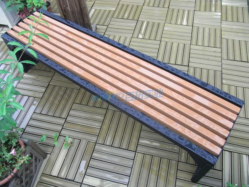 更衣室长凳椅面展示图