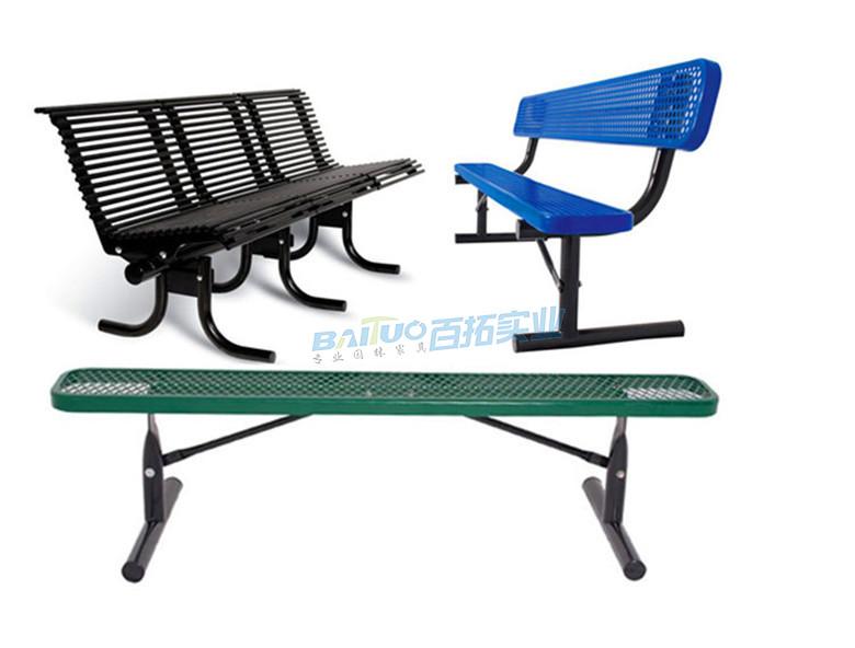 休闲能固定的长凳还有其他多种款式可订购