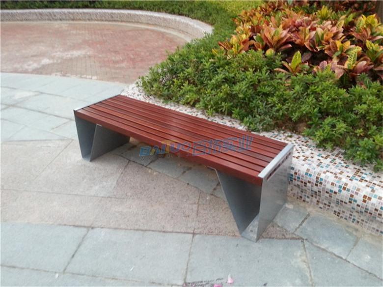 不锈钢长凳安装效果图