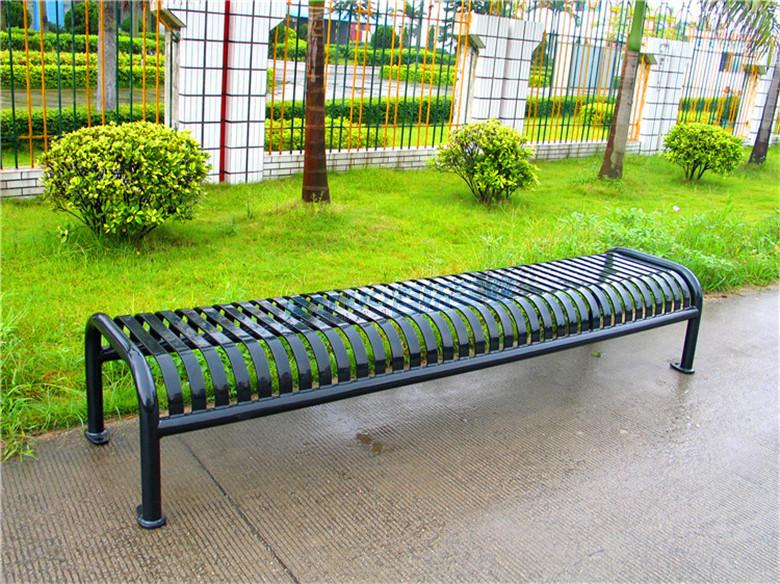 休闲长条凳室外展示图
