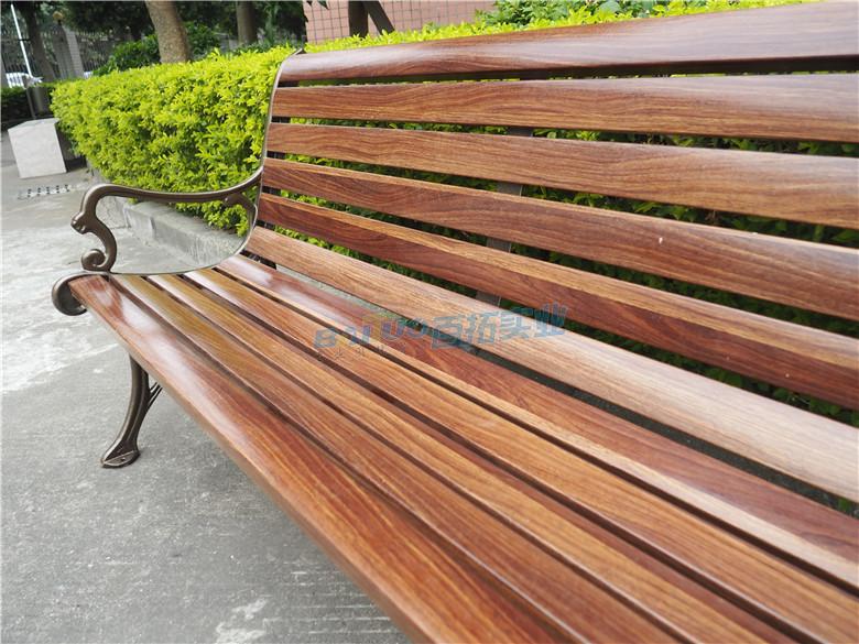 篮球场室外坐凳椅面材料展示图
