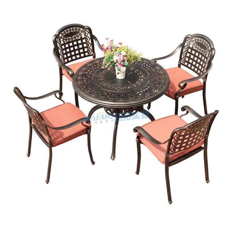 户外桌椅套装商品特写图