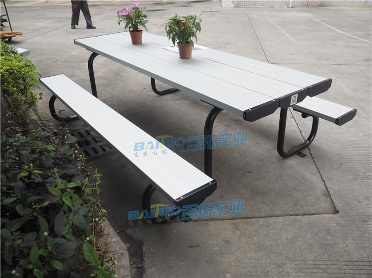 公园休息桌凳颜色可定制