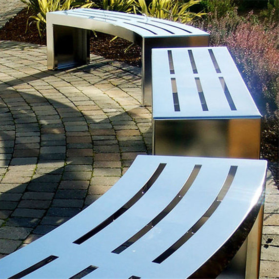 不锈钢户外休闲凳