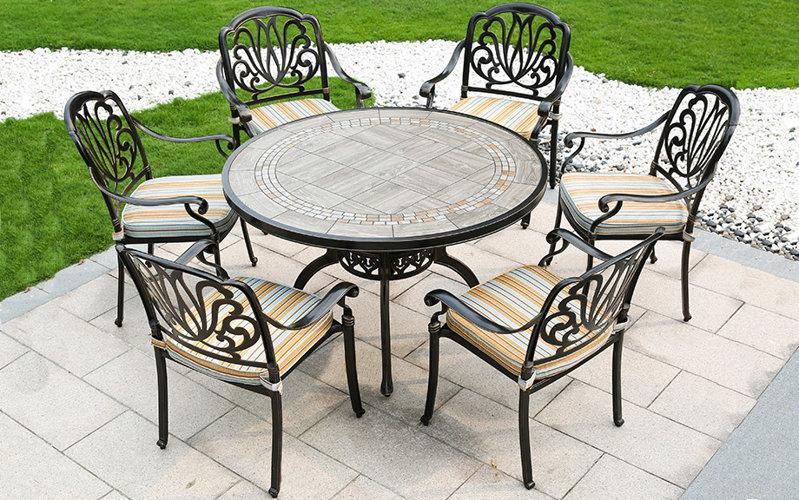户外铝制桌椅