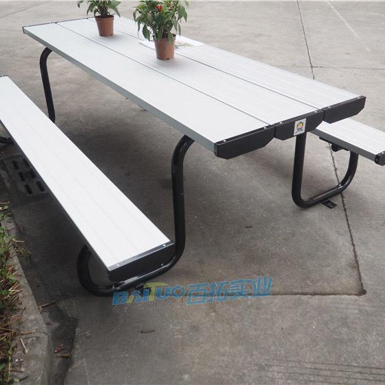 公园休息桌凳