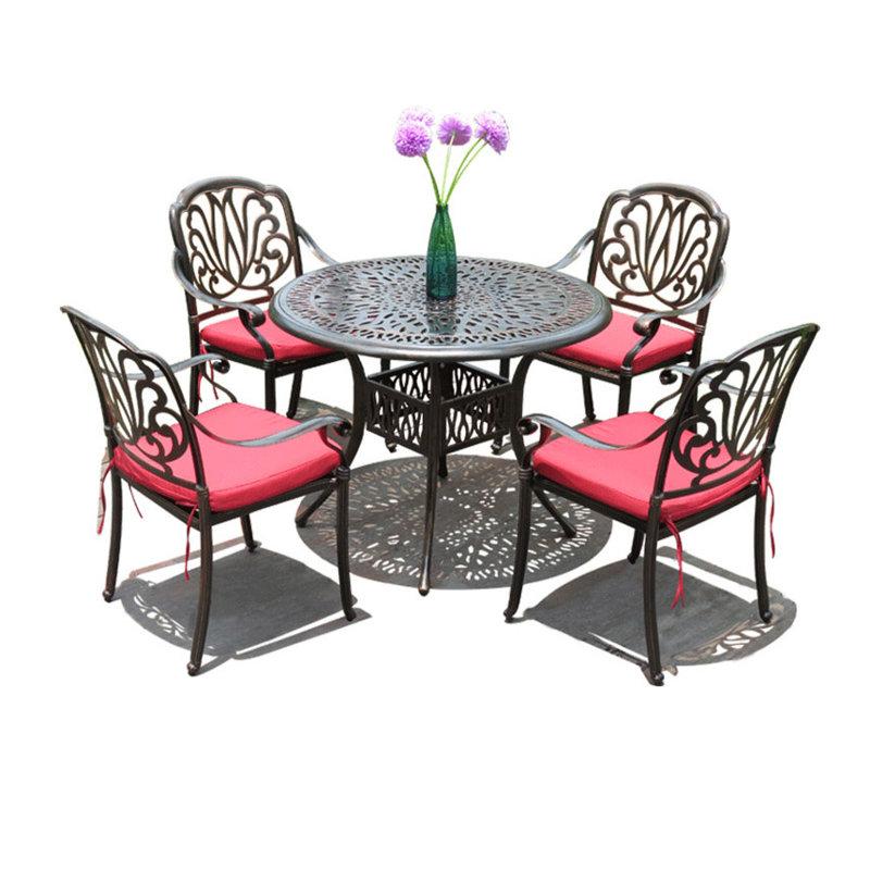 小区户外欧式休闲桌凳椅