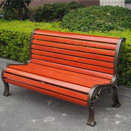 红色室外坐凳