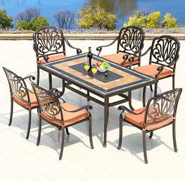 戶外鐵藝桌子
