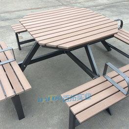 室外連體桌凳