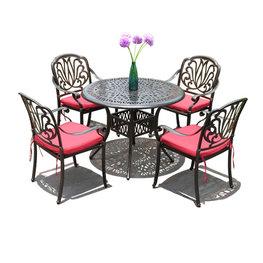 小區戶外歐式休閑桌凳椅