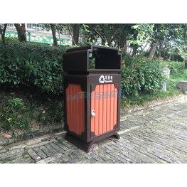 環保園柱果皮箱