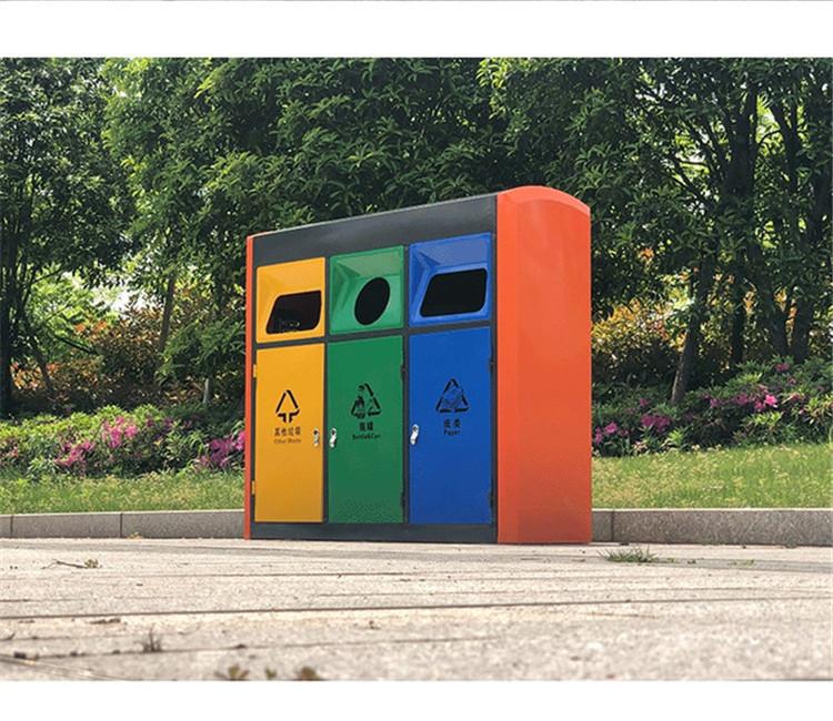 户外垃圾分类桶 分类垃圾桶定制